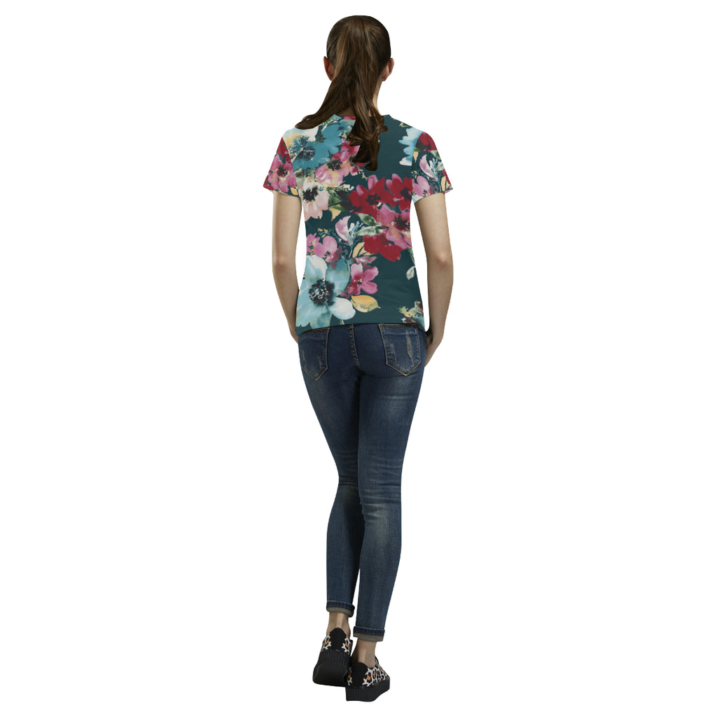 TALIA All Over Print T-Shirt for Women (USA Size) (Model T40)