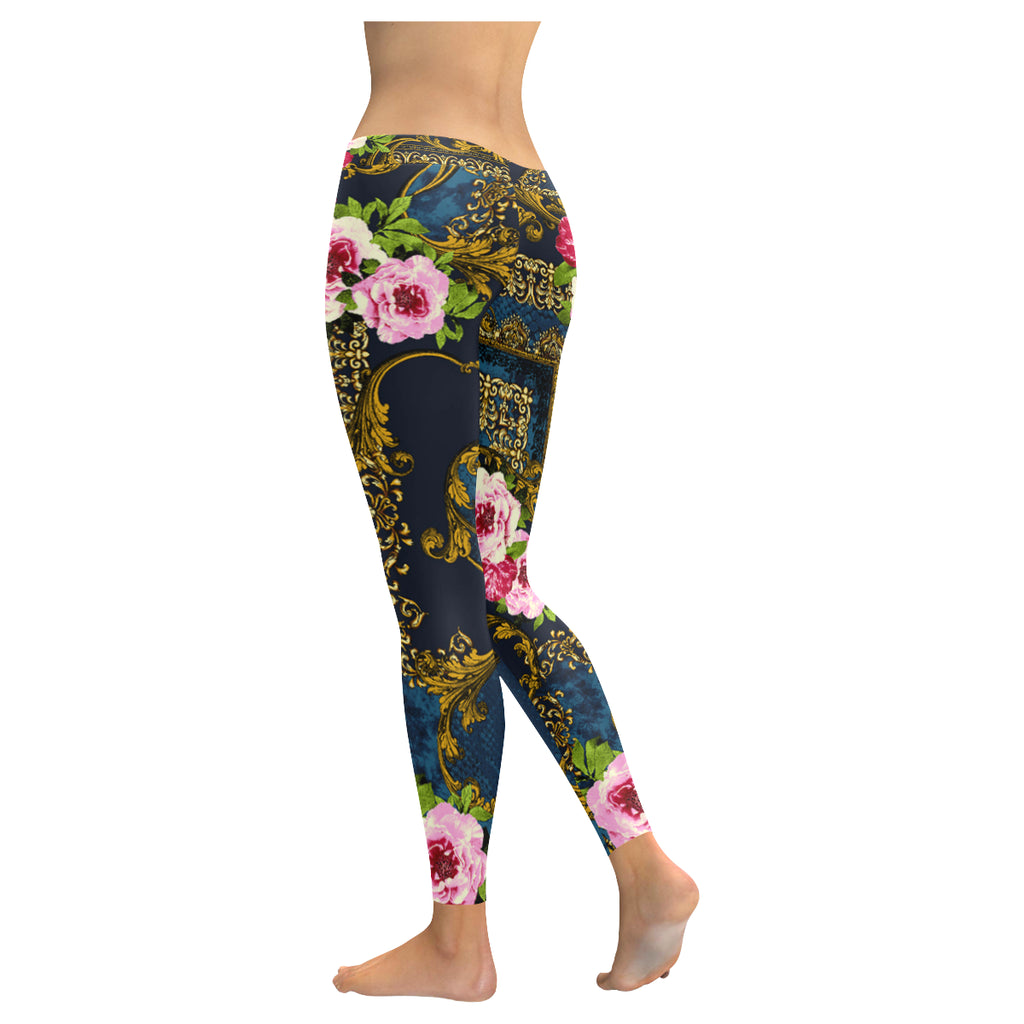 LAURA PRINT Low Rise Leggings (Model L05)