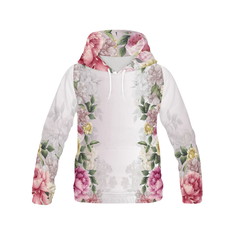 VERONICA All Over Print Hoodie for Women (USA Size) (Model H13)