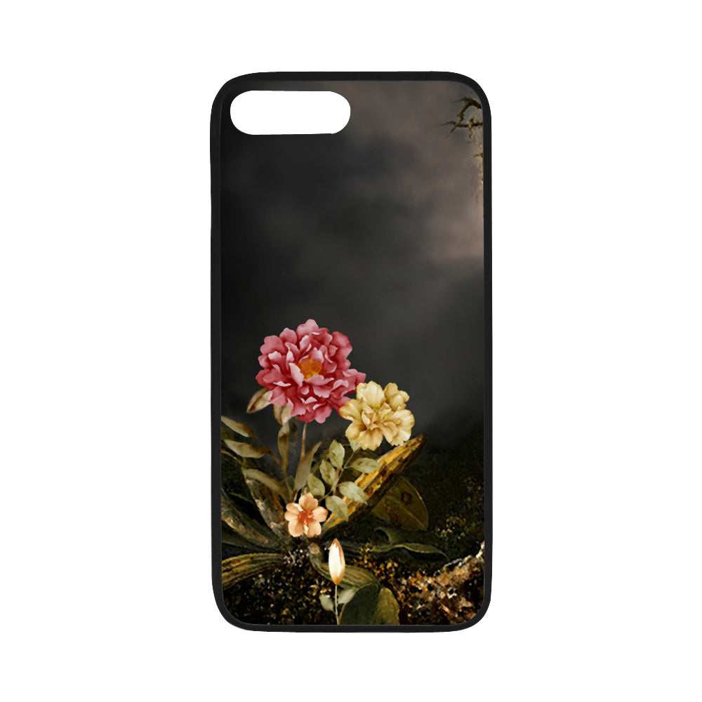 "DARK FLORAL WITH TREE iPhone 7 plus (5.5"") Case"