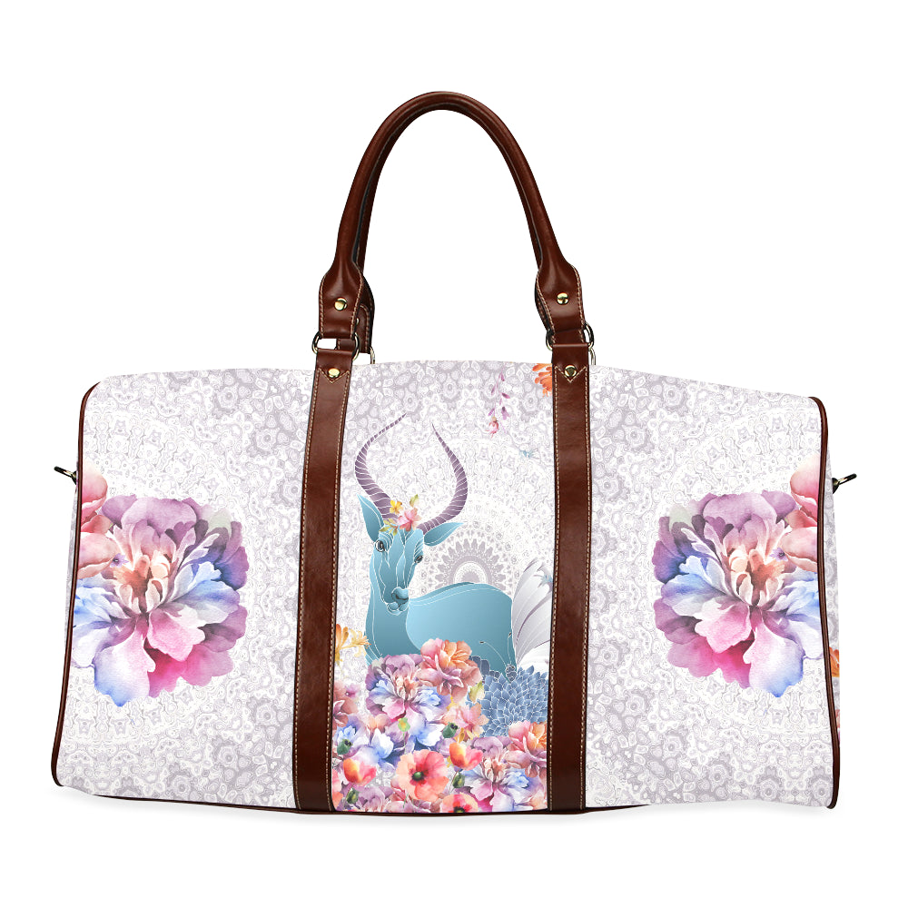 Flower Field Waterproof Travel Bag/Small (Model 1639)