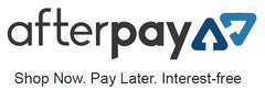 We accept AfterPay.