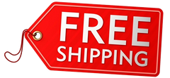 Free shipping to the lower 48 USA states!