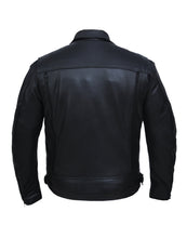 UNIK Men's Ultra Leather Motorcycle Jacket
