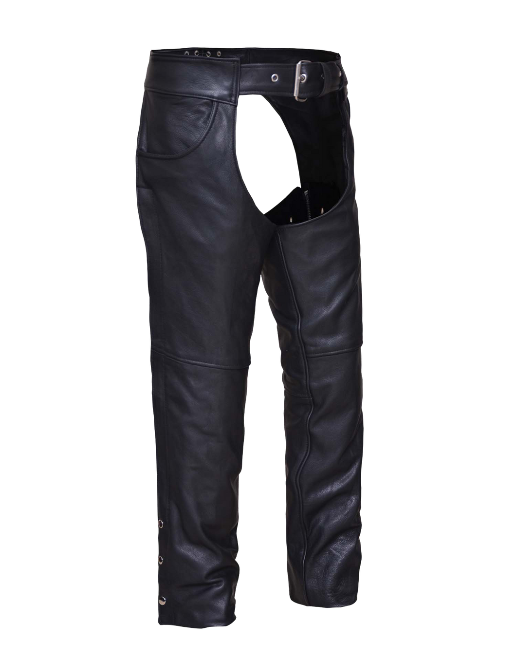 UNIK Unisex Ultra Leather Motorcycle Chaps