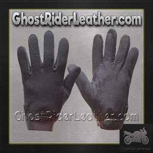 Black Mechanics Gloves / SKU GRL-GLZ50-DL-mechanics gloves-Ghost Rider Leather