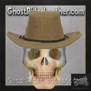 Brown Cowboy Hat / SKU GRL-HAT11-DL-cowboy hat-Ghost Rider Leather