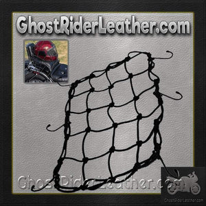 Bungee Motorcycle Helmet Holder / SKU GRL-BUNGEE-HI - Ghost Rider Leather