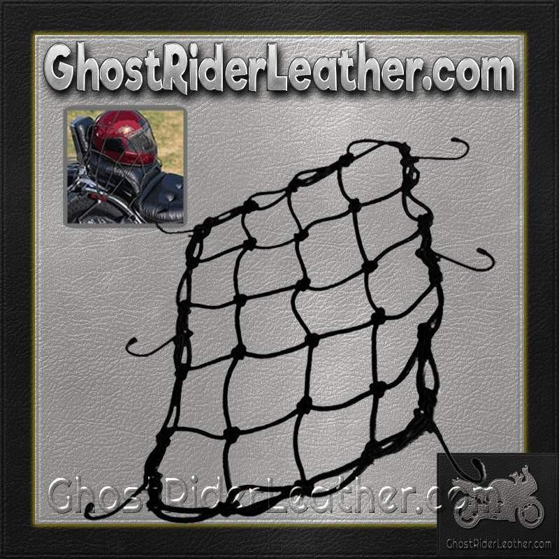Bungee Motorcycle Helmet Holder / SKU GRL-BUNGEE-HI-bungee motorcycle helmet holder-Ghost Rider Leather