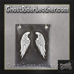 Casual Outfitters Ladies Angel Wings Purse Handbag / SKU GRL-LUPURWNG-BF-purse-Ghost Rider Leather
