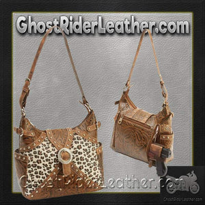Casual Outfitters Western Style Concealed Carry Purse / SKU GRL-LUPWCHL3-BN - Ghost Rider Leather