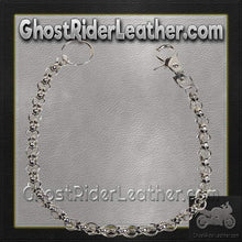 Chain with Skulls, Great Addition to your Wallet / SKU GRL-WTC8-DL-wallet chain-Ghost Rider Leather