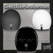DOT Daytona Cruiser Open Face Motorcycle Helmet / SKU GRL-DC1-DH - Ghost Rider Leather