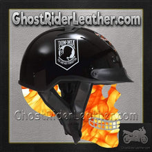 DOT POW MIA Motorcycle Helmet / Never Forget / SKU GRL-1VPOW-HI - Ghost Rider Leather