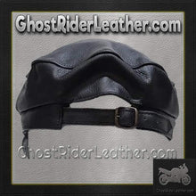 Leather Cap with Chain / SKU GRL-AC008-DL - Ghost Rider Leather