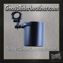 Motorcycle Cup Holders / Choice of Colors / SKU GRL-CUP4-DL-motorcycle cup holder-Ghost Rider Leather