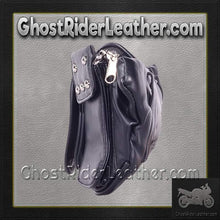 Motorcycle Magnetic TankBag with Studs / SKU GRL-TB3038-PV-DL-tool bag-Ghost Rider Leather