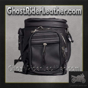 Motorcycle Sissy Bar Bag / SKU GRL-SB13-DL-sissy bar bag-Ghost Rider Leather