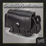 Motorcycle Sissy Bar Bag with Light Reflector / SKU GRL-SB78-DL-sissy bar bag-Ghost Rider Leather