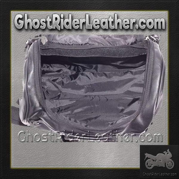 Motorcycle Sissy Bar Duffle Bag / SKU GRL-SB74-DL-sissy bar bag-Ghost Rider Leather