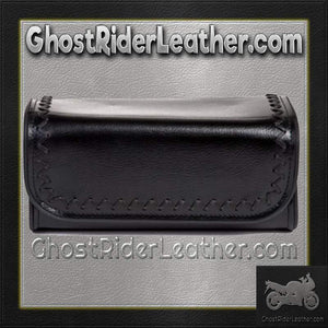 Motorcycle Tool Fork Bag 10 Inches / SKU GRL-TB3005-10-DL - Ghost Rider Leather