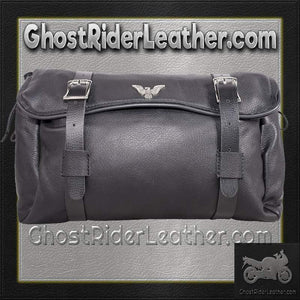 Motorcycle Tool Fork Bag With Eagle / SKU GRL-TB3035-PV-DL-tool bag-Ghost Rider Leather