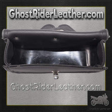 Motorcycle Windshield Bag Plain / SKU GRL-WS22-DL - Ghost Rider Leather
