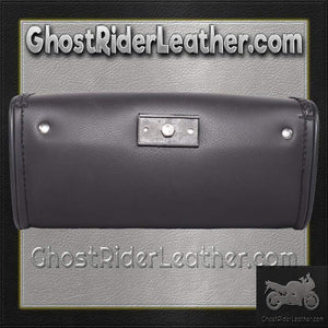 Motorcycle Windshield Bag with Braid Design / SKU GRL-WS14-DL-windshield bag-Ghost Rider Leather
