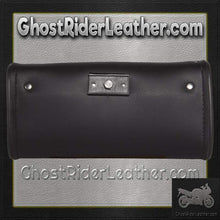 Motorcycle Windshield Bag with Studs / SKU GRL-WS12-DL-windshield bag-Ghost Rider Leather