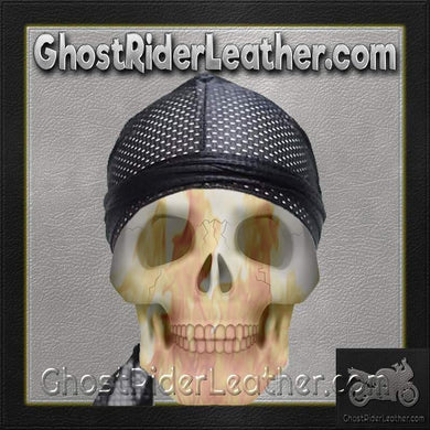 Perforated Doo-Rag / SKU USA-AC8-DL - Ghost Rider Leather
