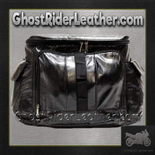 PVC Motorcycle Sissy Bar Travel Bag / SKU GRL-SB7-DL - Ghost Rider Leather