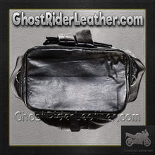 PVC Motorcycle Sissy Bar Travel Bag / SKU GRL-SB7-DL-sissy bar bag-Ghost Rider Leather
