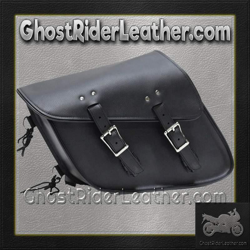 PVC Motorcycle Solo Swing Arm Bag / SKU GRL-SD4093-SOLO-DL - Ghost Rider Leather