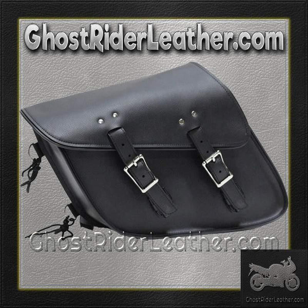 PVC Motorcycle Solo Swing Arm Bag / SKU GRL-SD4093-SOLO-DL-saddlebags-Ghost Rider Leather