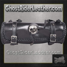 PVC Motorcycle Tool Bag - Fork Bag Braid 10 or 12 Inch / SKU GRL-TB3006-DL-tool bag-Ghost Rider Leather
