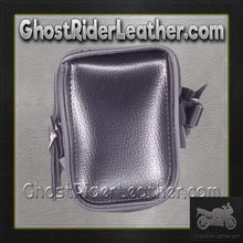 PVC Motorcycle Tool Bag - Fork Bag with 3 Straps 10 or 12 Inch / SKU GRL-TB3009-DL-tool bag-Ghost Rider Leather