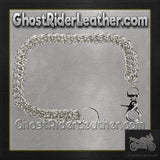 Wallet Chain for Biker Wallets / SKU GRL-WTC4-DL-wallet chain-Ghost Rider Leather