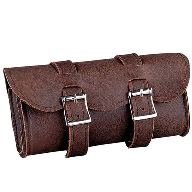 UNIK Soft Brown Leather Tool Bag - SKU GRL-1609-BR-UN - Ghost Rider Leather