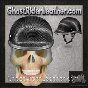 Real Carbon Fiber Jockey Polo Style Novelty Motorcycle Helmet / SKU GRL-2003G-DH-motorcycle helmet-Ghost Rider Leather