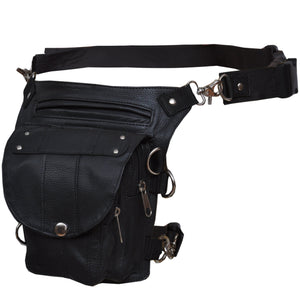 UNIK Ladies Leather Thigh Bags - SKU GRL-2083-00-UN - Ghost Rider Leather