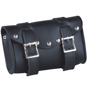 UNIK PVC Tool Bag With Braid Design - SKU GRL-2822-BO-UN - Ghost Rider Leather