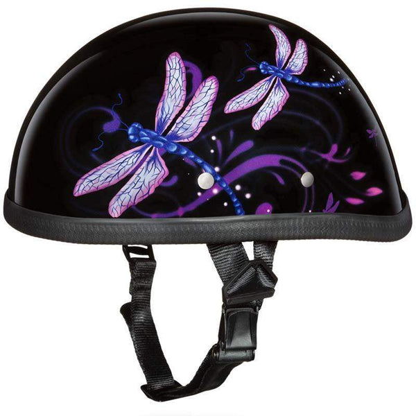 Eagle Style with Dragonfly Novelty Motorcycle Helmet / SKU GRL-6002DF-DH-motorcycle helmet-Ghost Rider Leather