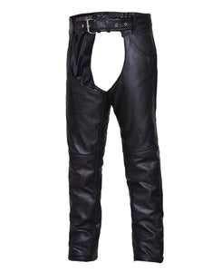 UNIK TALL Premium Leather Motorcycle Chaps