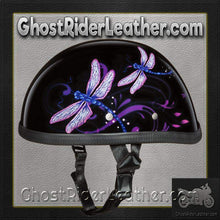 Eagle Style with Dragonfly Novelty Motorcycle Helmet / SKU GRL-6002DF-DH - Ghost Rider Leather