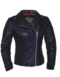 UNIK Ladies Premium Leather Jacket - Ghost Rider Leather
