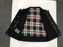 UNIK Men's Vest with Black / Red Flannel Liner