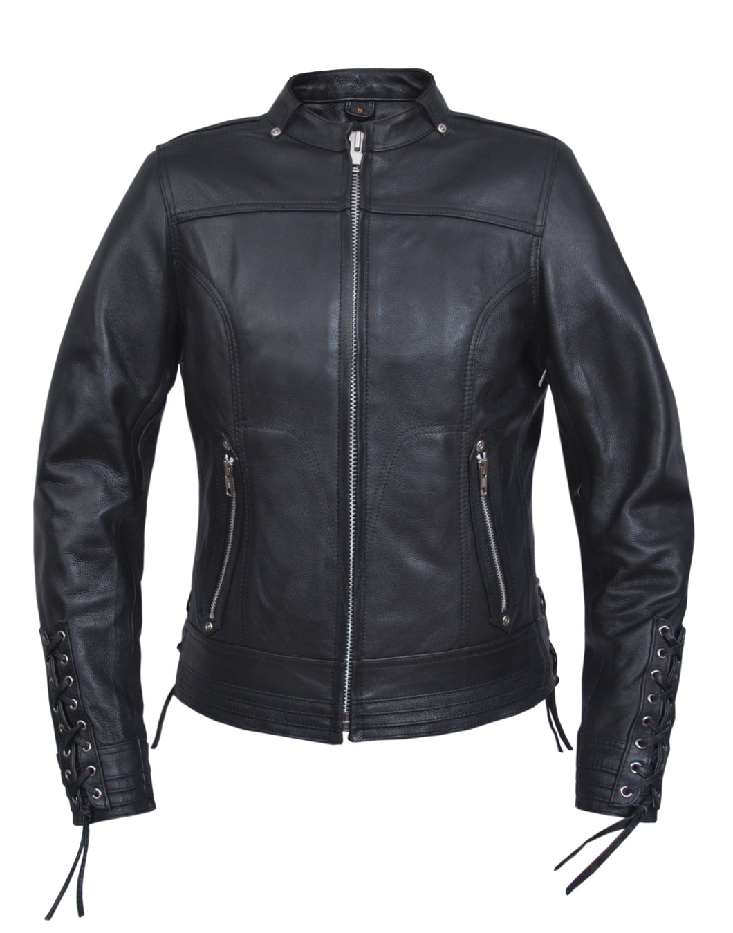 UNIK Ladies Ultra Leather Motorcycle Jacket