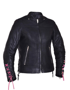 UNIK Ladies Premium Leather Motorcycle Jacket