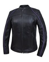 UNIK Ladies Motorcycle Premium Leather Jacket