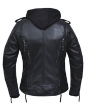 UNIK Ladies 3-in-1 Premium Lambskin Leather Jacket